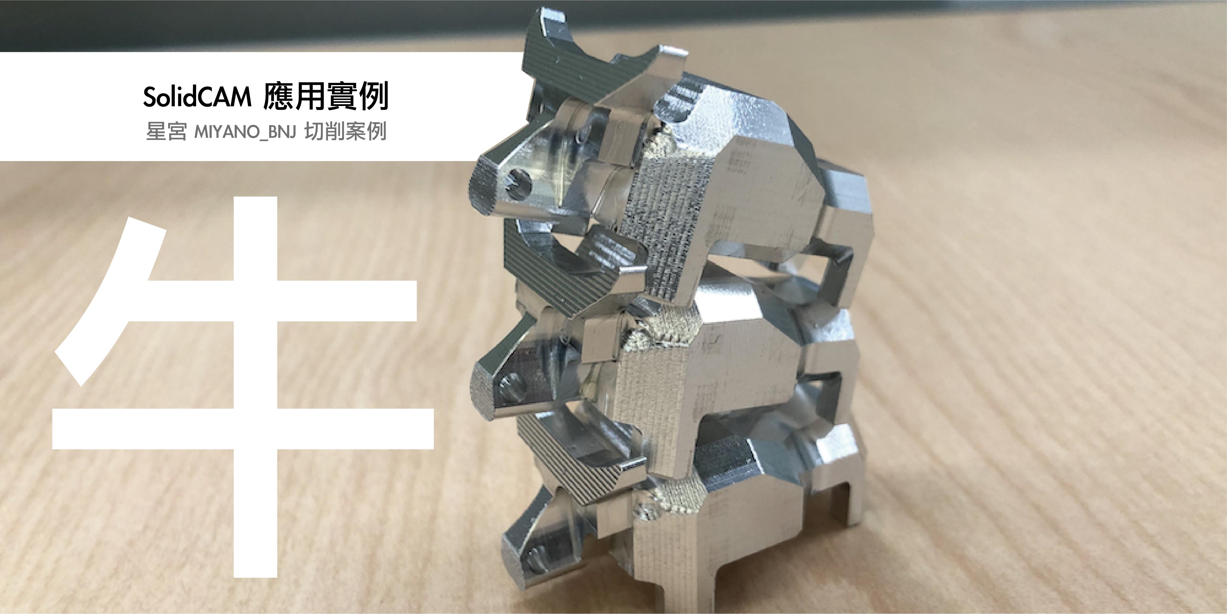 星宮 美亞諾 MIYANO_BNJ SolidCAM 使用案例